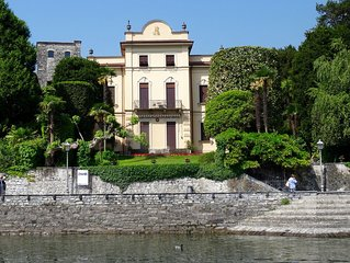 Historic villa on the shores of lake of Como