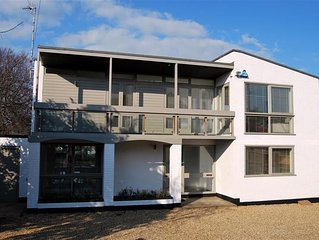 A stunning conversion of an iconic 1960's building, with great views of the sea