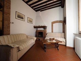 San Gimignano: antica casa  ristrutturata nel cuore di San Gimignano