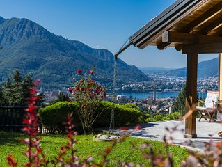 Villa Helena splendida villa con vista lago