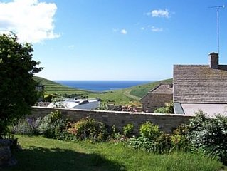Cottage in Worth Matravers, Isle of Purbeck, Dorset with Sea Views