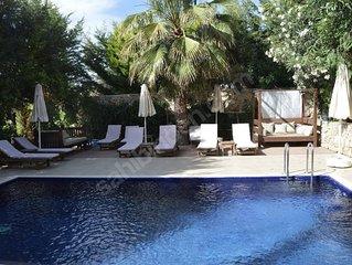 5*Luxus Villa Heated Pool/Jakuzzi BBQ Wifi Sauna Turkish Hamam