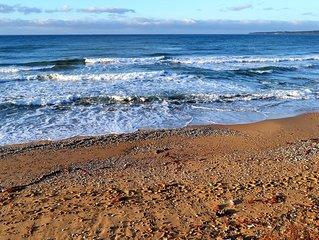 Villa con accesso privato alla spiaggia e vista su Terrazza sul Mar Mediterraneo