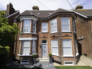 Beautiful Edwardian house in a prime location yards from Southsea seafront.