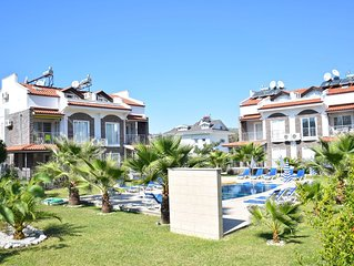 Centrally located 2 bed 1 bath apartment in Hisaronu Center with FREE WIFI