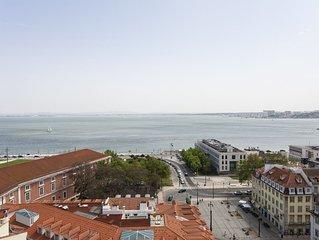 NOVO!! O Tejo a Seus Pés! O Seu Apartamento de Luxo em Lisboa