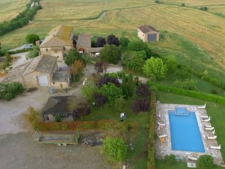 Holiday for relax, in the country senese. It's possible to eat the food tipicol