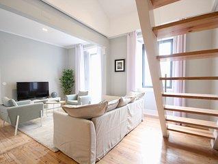 Cardo White Duplex Apartment, Wi-fi, AC, balcony