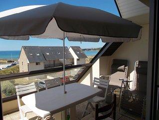 Appartement duplex tout confort vue mer 2 chambres dans une résidence calme