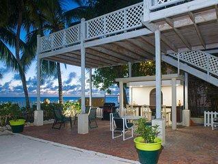 Superb South Coast On The Beach Villa, sleeps 8. Villa Benjamin.