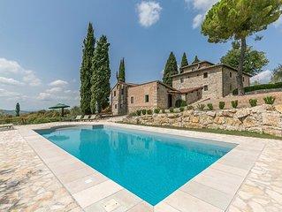 'Bellaria': dimora di pregio con piscina esclusiva a Lecchi in Chianti