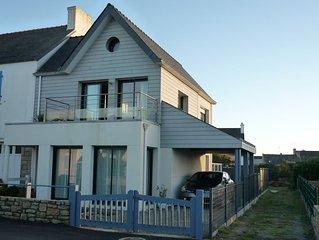 maison tout confort (3*) en bord de mer entre port et plage