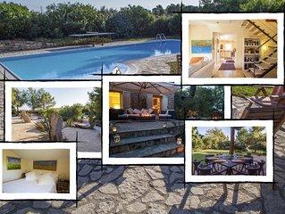 La casa dei capperi: villa di lusso con piscina, Carloforte - Sardegna