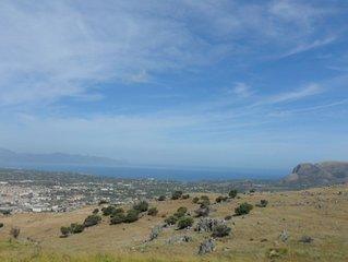 Confortevole e calmo appartam. vacanze 130 mq  sul Golfo di Castellammare
