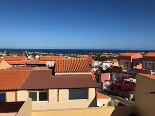 Casa con vistas al océano, tranquila, en pleno Castillo