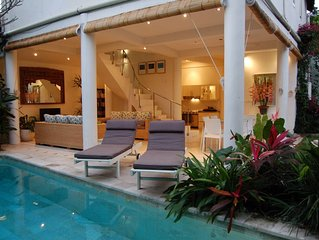 Luxury 3 Bedroom in Tropical Garden Setting in Seminyak, Bali
