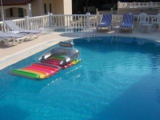 5 bedroom 5 bathroom villa sleeps 12  With private swimming pool