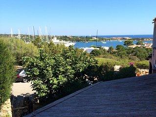 Appartamento vista mare con piscina  Porto cervo centro