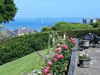 STUNNING SEA VIEWS of The Solent and Southampton Water