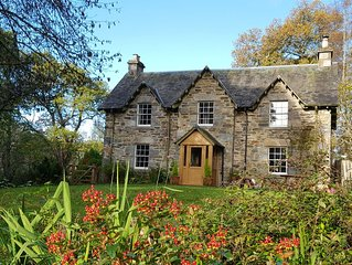Beautiful Self Catering Family Holiday Cottage in ancient woodland nr Aberfeld