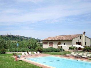 Vacation home Le Fonti di Santa Lucia  in San Gimignano (SI), Siena and surroun