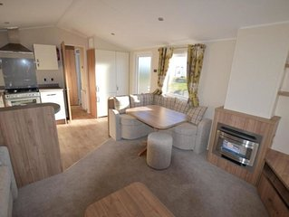 3 bedroom 6 berth caravan situated on Lakeland Leisure Park Grange over Sands
