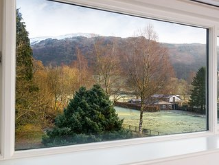 Recently Refurbished 3 Bedroom House, Grasmere Village, Stunning Fell Views