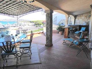 Duplex terrasse à Palau pour 6/9 personnes piscine/jacuzzi plage à 160 mètres