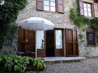 Gite Casciano en Toscane, avec jardin et piscine
