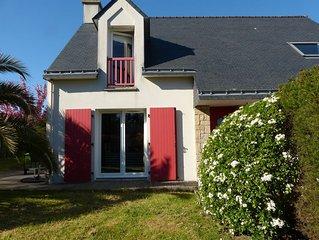 Sarzeau: Jolie Maison avec jardin proche plage
