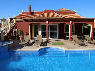 Wonderful  Luxury Villa On Golf Course With Private Pool, Sea & Golf Views