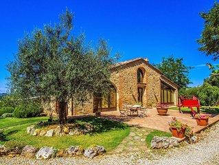Villa di Pancole in San Gimignano - Toscana