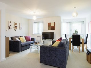 Gunwharf Quays .  One bedroom apartment, sleeps 4 guests with free parking space