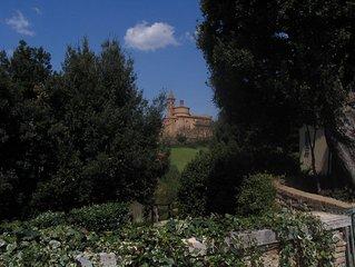 Fontebenedetta: piscina natura e panorama a 1 km dal centro (F)