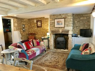 Traditional Cotswold Stone Cottage, Winchcombe, Cotswolds Way.