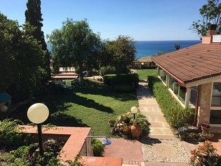 Villa con esclusiva vista mare e splendido giardino panoramico 11 posti letto