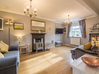A comfortably furnished cottage located just outside the village of Docking.