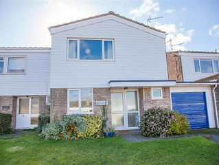 A refurbished house 5 minutes' walk from the harbour in Brancaster Staithe