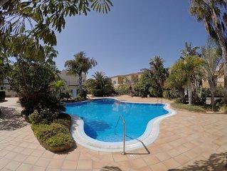 Villa de 3 habitaciones en Complejo con piscinas y wifi