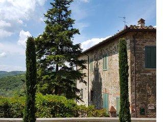Villa in Gaiole in Chianti, Tuscany, Italy