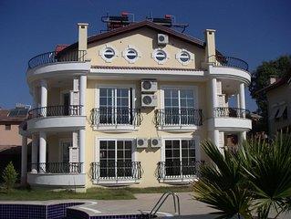 3 En-Suite Bedrooms, 4 balconies & pool in Calis, Fethiye - TRANSFERS INCLUDED