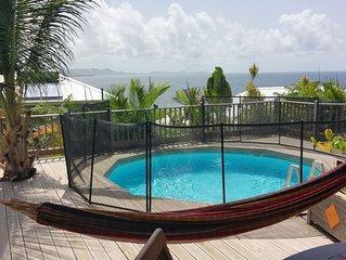 Un ti coin de paradis villa Frangipanier Habitation Blue Diamond Paradise