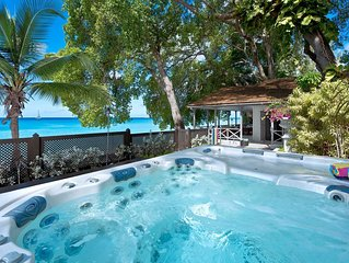 LA LUNE VILLA BARBADOS - Stunning beach house on Gibbs Beach with Jacuzzi