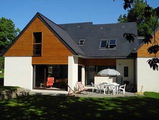 Port Manech: Villa 130 m2  en pleine nature, à 500 m de la plage !