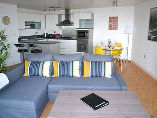 Luxury Bournemouth Town Centre Apartment with Sea Views
