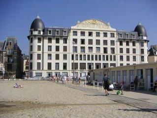 appartement donnant directement sur la plage