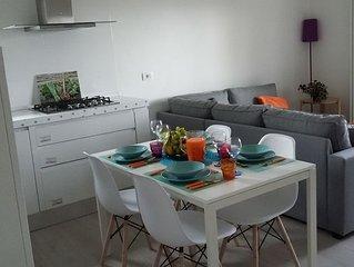 Appartamento nuovo con grande giardino indipendente