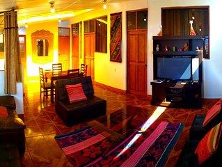 'SUN' apartment fully equipped & spacius TO CUSCO