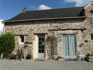 The Lodge- Rural Gite, - Four  bedroom house near Chateaubriant