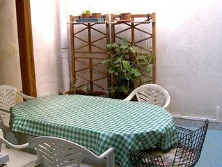 Casetta lavanda Favignana centro paese